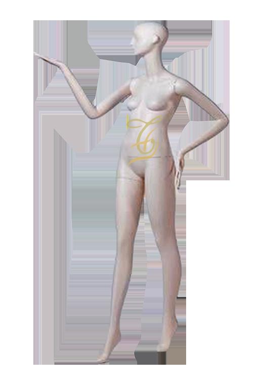 Mannequin nữ trắng đứng U603-617