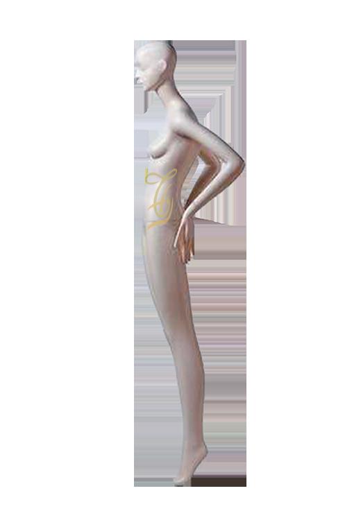 Mannequin nữ trắng đứng U603-618