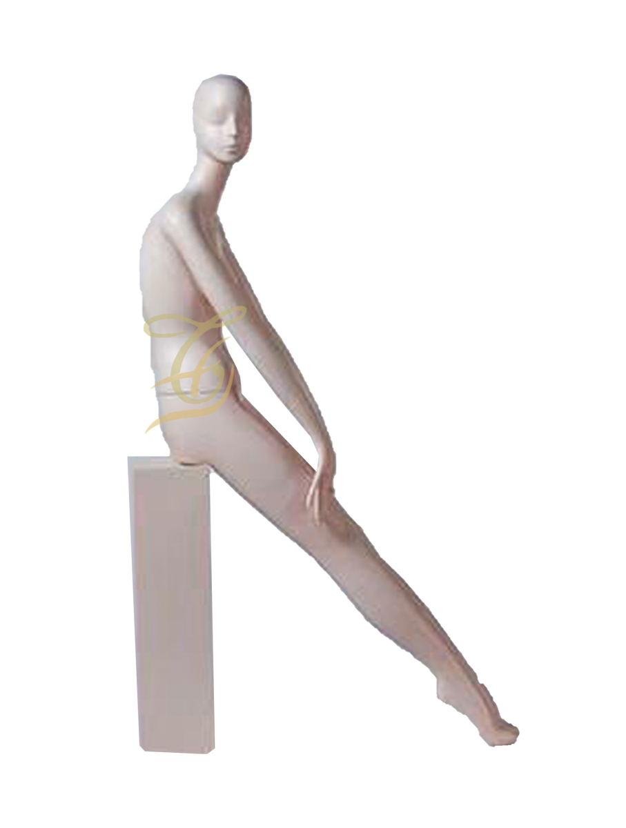 Mannequin nữ trắng ngồi U603-704-B