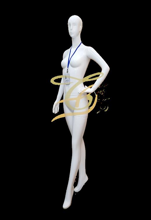Mannequin nữ trắng đứng U601-603